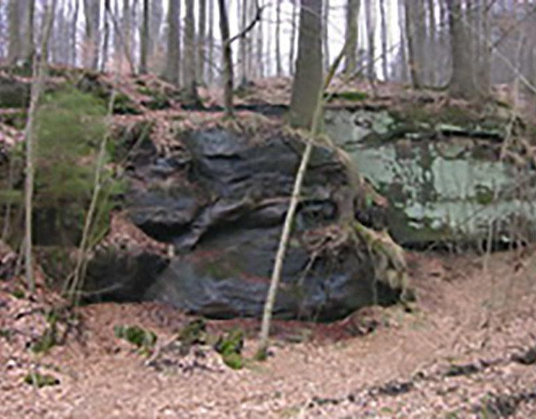 Klippen und Felsenmeer
